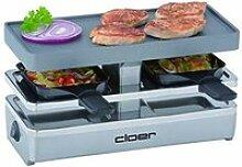 Cloer 6495 Mini-Appareil à Raclette Noir 6495