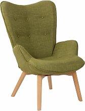 CLP - Chaise Lounge Durham en Tissu vert