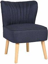 CLP Chaise Lounge Sevran en Tissu I Chaise