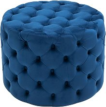 CLP - Tabouret bas Pouf Style Chesterfield Drancy