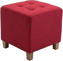 CLP - Tabouret pouf Pharao rouge