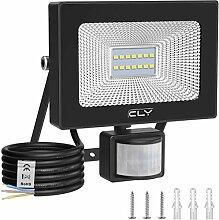 CLY 10W Projecteur LED Extérieur Détecteur de