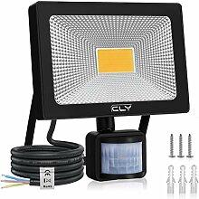 CLY 30W Projecteur LED Extérieur Détecteur de