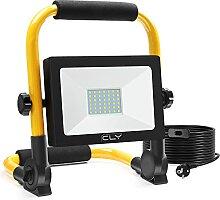CLY Lampe Chantier 30W 42LED Projecteur Extérieur
