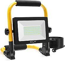 CLY Lampe Chantier 60W Projecteur Led 6000LM