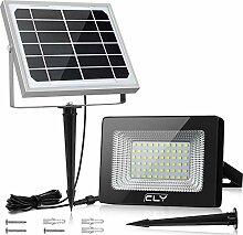 CLY Projecteur Led Exterieur Solaire 60 LED, Lampe