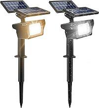CLY Spot Solaire Extérieur 40 LED Projecteur
