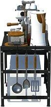 CM67 Four à micro-ondes en acier au carbone -