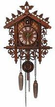 CML-002 Coucou Horloge Murale Bois Pendule Art