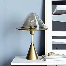 CMMT umières de table Lampe de table en verre