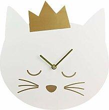 CMP Paris Horloge Tête De Chat - D 30 Cm