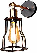 CNCDRS LED rétro Style Industriel Mur Lampe Bar