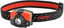 coast - fl75 - headlamp red/white light 435 lumen