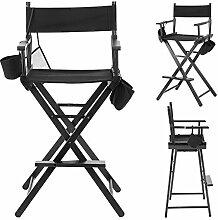 Cocoarm Director Chaise en Bois Chaise Pliante