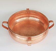 Cocotte en cuivre pour ragoût, riz et restaurant,