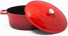 Cocotte ovale NUAGE + couvercle - 6,6 Lt 32 x 25 cm