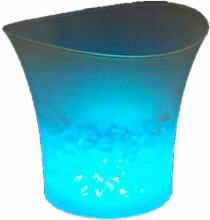 codomoxo Seau à Glace coloré LED Bar bière Seau
