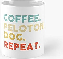 Coffee Peloton Dog Repeat For Dad From Daughter