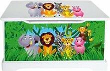Coffre à jouets Animaux de la Jungle