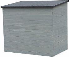Coffre de jardin en bois 'Caja' - 137 x 91