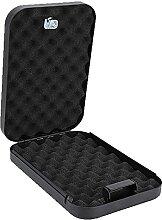 Coffre-fort portable avec 2 clés, boîte de