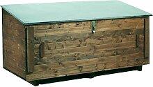 Coffre rangement bois 1300x550x750mm