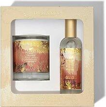 Coffret Bougie et Parfum d'Ambiance Cannelle
