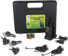 Coffret Talkie-walkie professionnel Freecomm 700 -