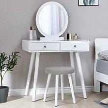 Coiffeuse de Style moderne avec tabouret, meuble