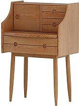 Coiffeuse Table de coiffeuse en bois massif Petit