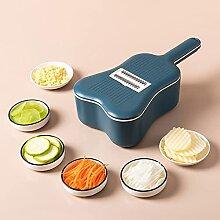 COKEA Mandoline 6 en 1 pour légumes et fruits -