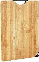 COKEA Planche à découper en bambou naturel avec