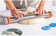 Colichef Rouleau à pâtisserie inox 43cm avec