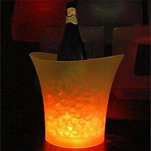 COLiJOL 5L Led Discothèque Bars Glace Lumière
