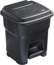 Collecteur de déchets à pédale HERA capacité