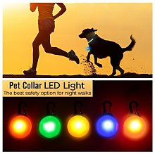Collier à lampe de poche LED degrés pour animal