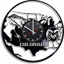 Colorado Canyon Denver Springs Horloge murale en