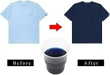 Colorant bleu pour tissu, 10g, peinture acrylique,
