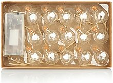com-four® Ampoule Guirlande Lumineuse LED avec