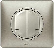 Commande Legrand double sans fil pour éclairage