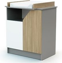 Commode carnaval - gris chene AT43294459037145