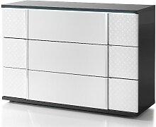 Commode CONSCIENCE - 3 tiroirs - Avec LEDs -