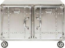 Commode industrielle 2 portes en acier
