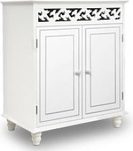 Commode vintage Buffet JERSEY blanc meuble armoire