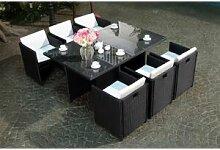 Concept Usine Miami 6 Noir/Blanc : salon