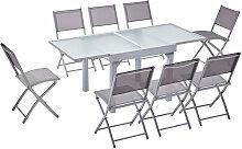 Concept-usine - Molvina 8 : table de jardin