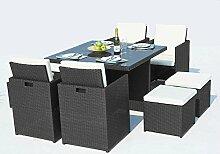 Concept Usine - Salon De Jardin Monaco 8 Personnes