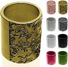 concrette Pot de Fleurs en Ciment, Cache-Pot en