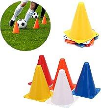 Cônes de signalisation Football Formation Traffic