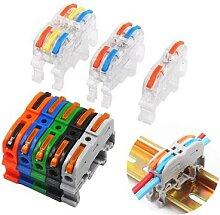 Connecteur de câble de bornier de Rail Type